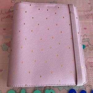 Kikki K lavender and gold large personal planner